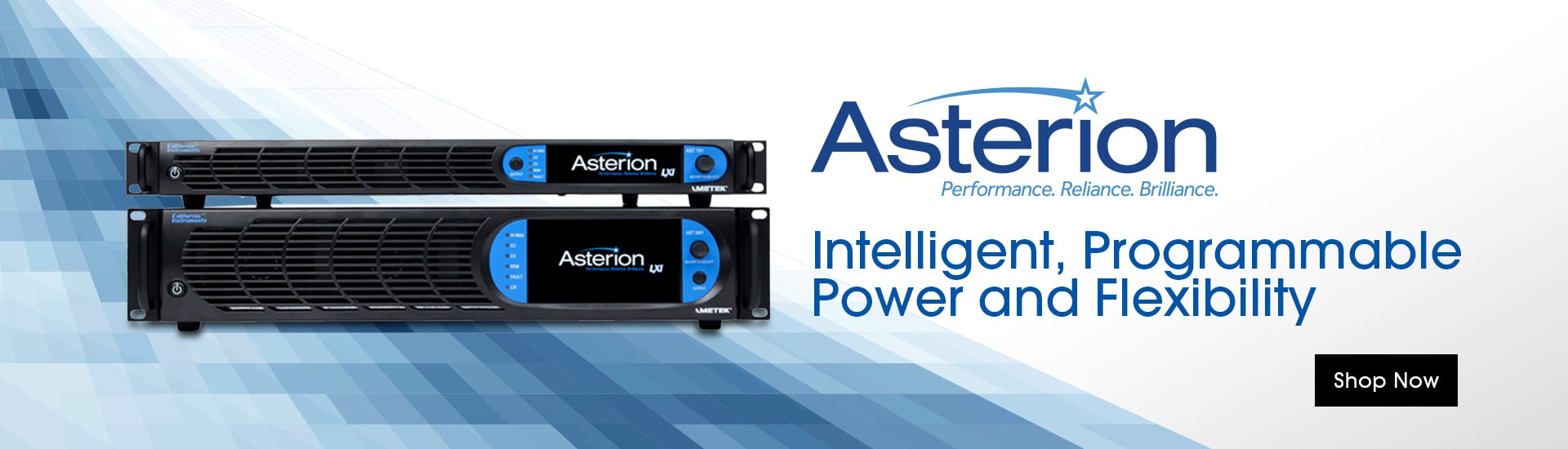 Asterion: Intelligent, Programmable Power and Flexibility. Shop Now.