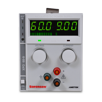 XPD 500W DC Bench Power Supply Front