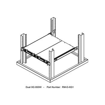 XG 850 Series Dual Rackmount Unit Kit