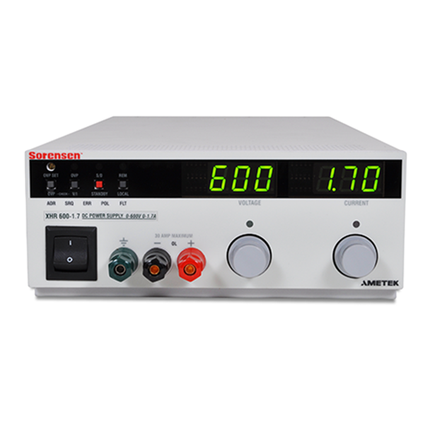 XHR 1000W DC Bench Power Supply Front