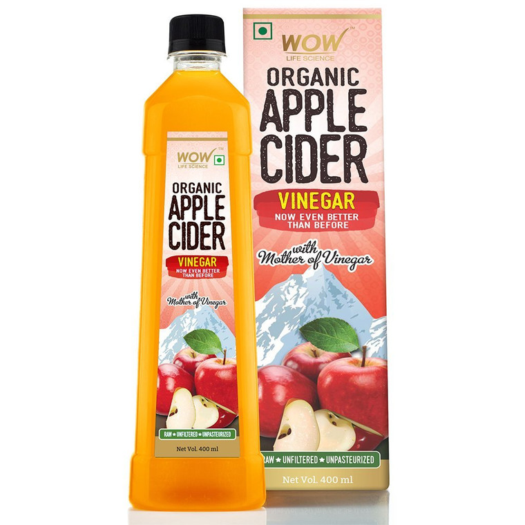 Raw Organic Apple Cider Vinegar - With Strand Of Mother - Not From Concentrate