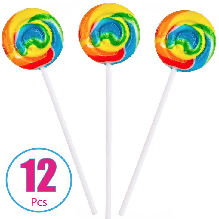 Rainbow Swirl Pop - 12