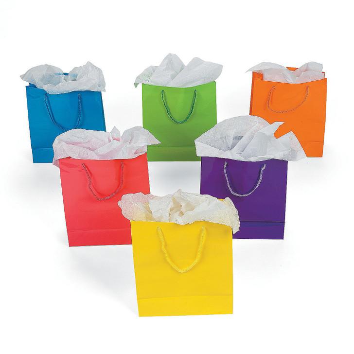 Medium Neon Gift Bags