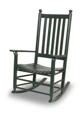 Rocking Chairs - Good for the body and good for the soul.