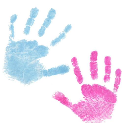 20 Dactek Blue/Pink Inkless Wipes