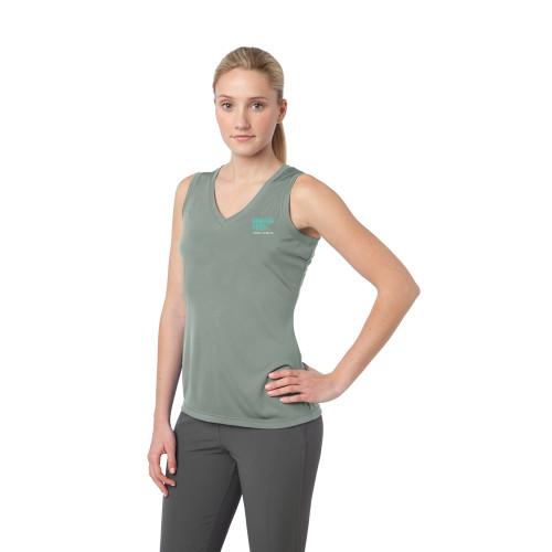 Sport-Tek® Ladies Sleeveless PosiCharge® Competitor™ V-Neck Tee
