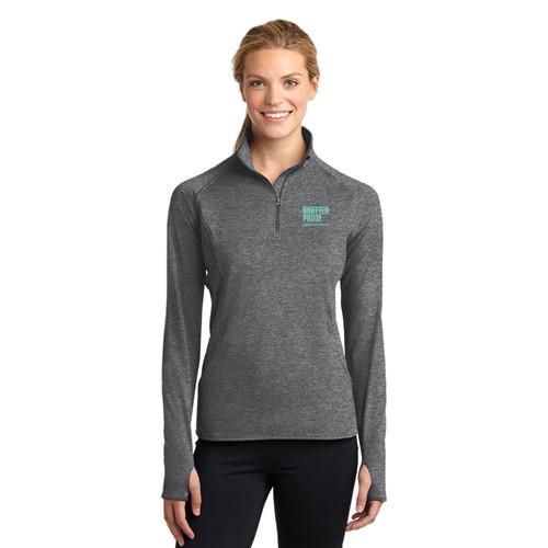 Shatterproof Ladies Sport-Tek 1/2-Zip Pullover