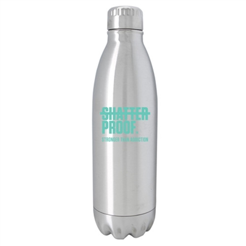 Silver Stainless Steel Bottle