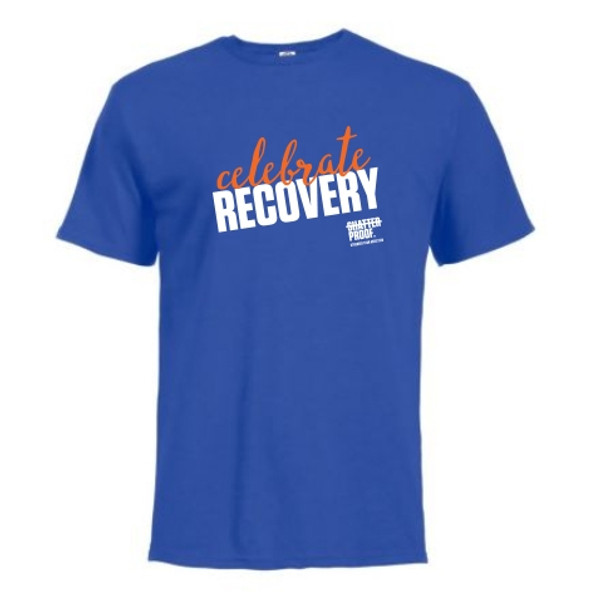 Celebrate Recovery Blue Shirt