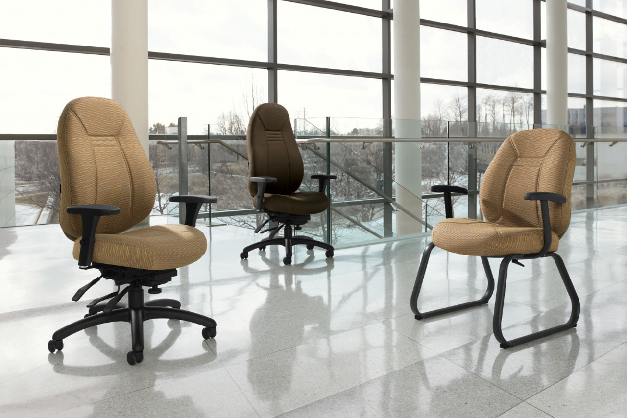 Obusforme family of ergonomic chairs