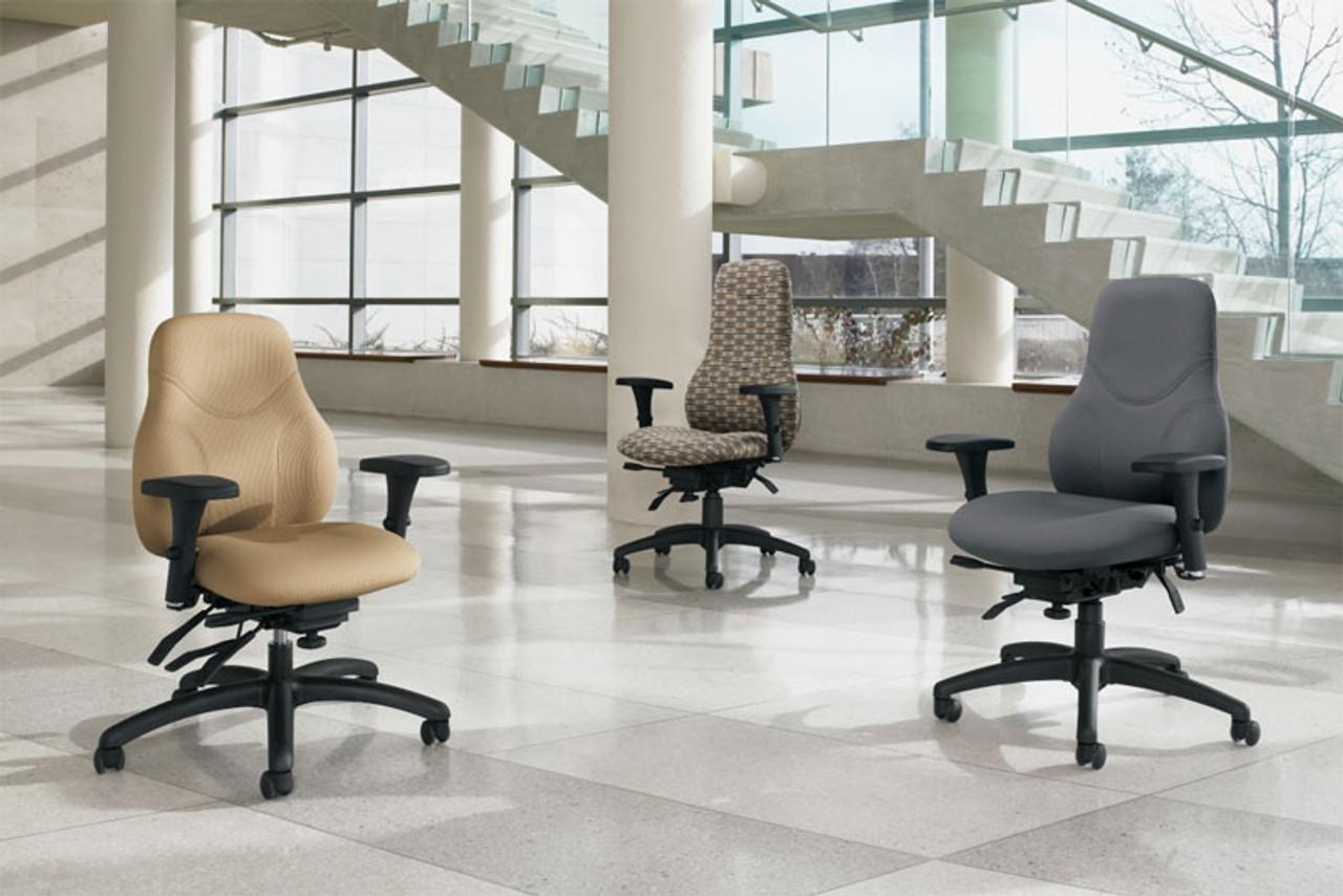 Tritek family of ergonomic chairs