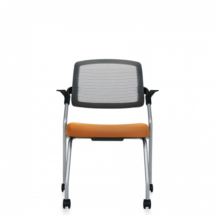 Spritz™ Flip Seat Nesting Armchair, Casters (6765C)