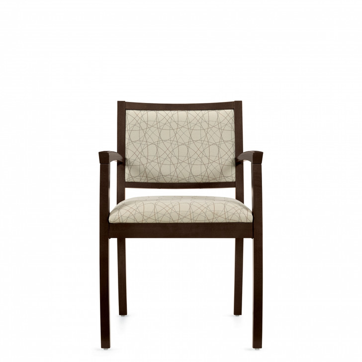 Beach™ Armchair with Upholstered Back (4077)