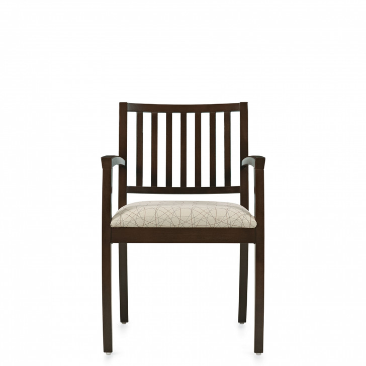 Beach™ Armchair, Vertical Wood Slat Back (4078)