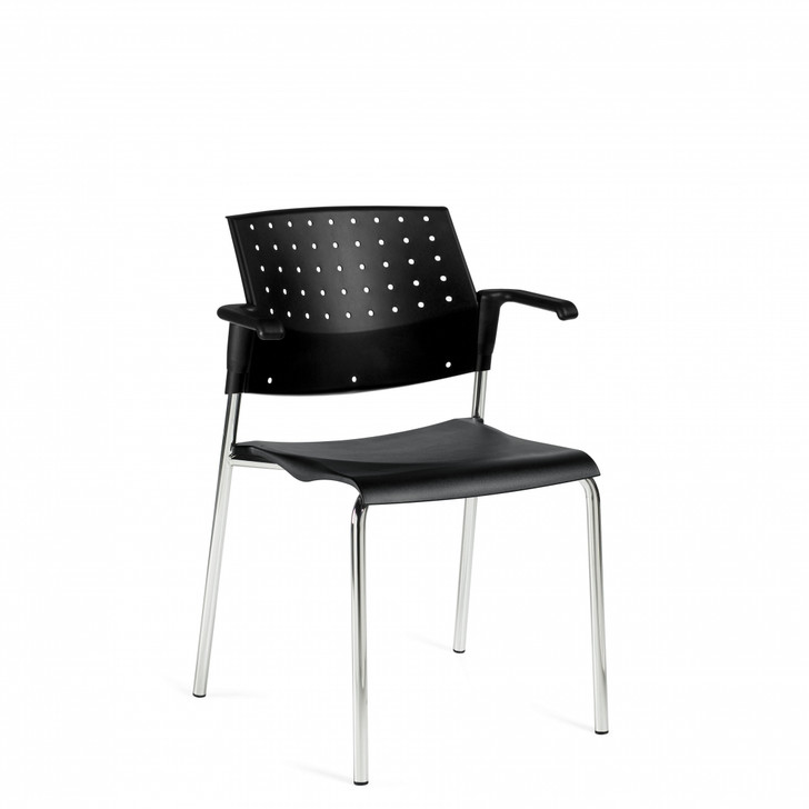 Sonic™ Stacking Armchair, Polypropylene Seat & Back (6513)