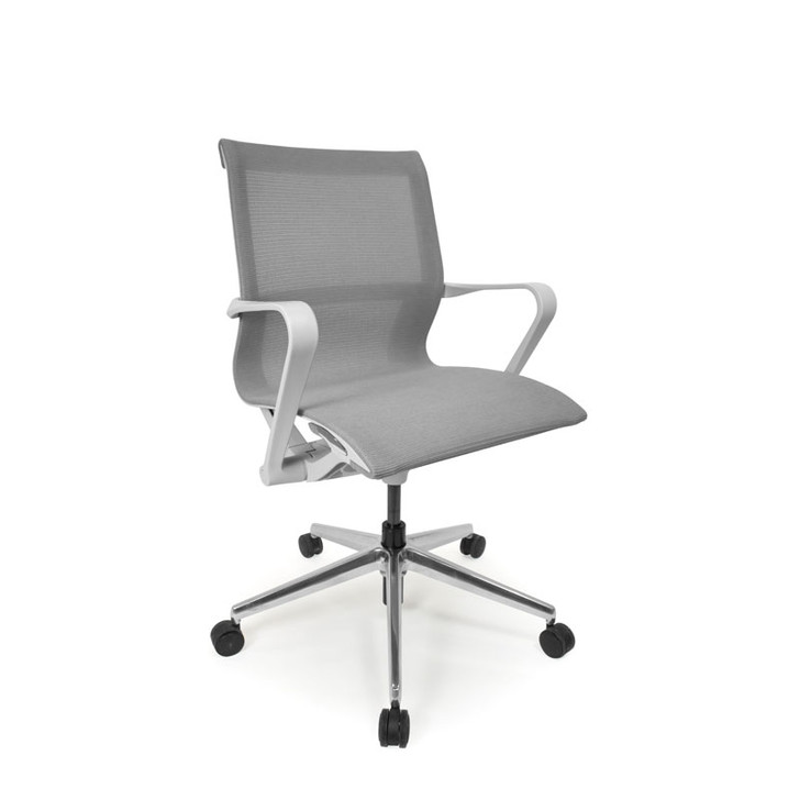Icon C4 Mesh White Office Chair