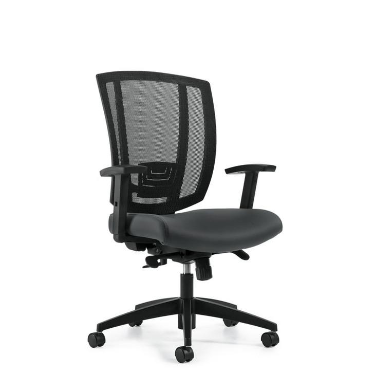 Avro MVL3101, Upholstered Seat & Mesh Back Synchro-Tilter
