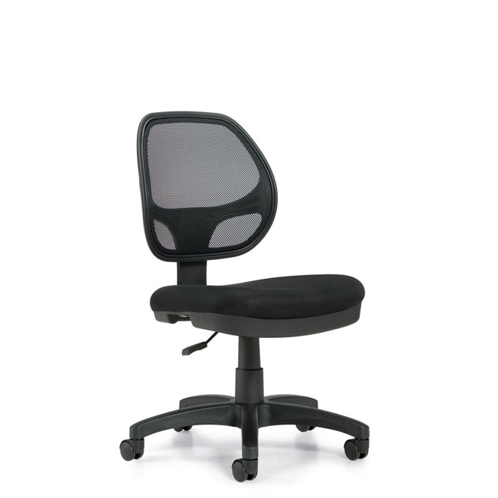 Geo OTG11642B, Low Mesh Back Armless Task Chair