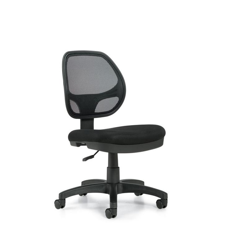 Geo OTG11642B, Low Mesh Back Armless Task Chair