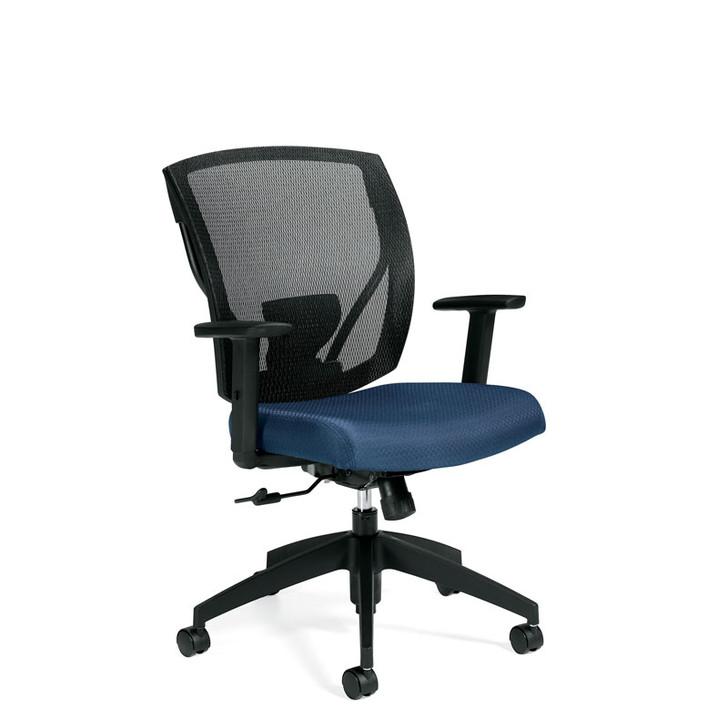 Ibex MVL2804, Upholstered Seat & Mesh Back Tilter, OTG