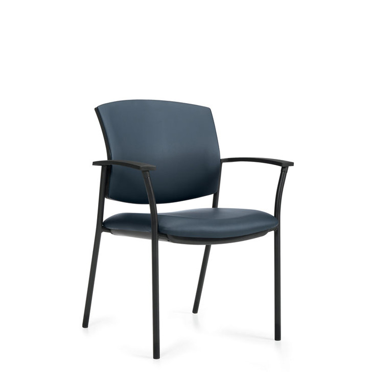 Ibex MVL2819, Upholstered Seat & Back Guest Chair, OTG