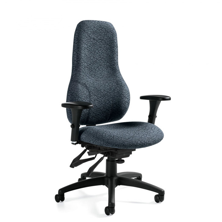 Tritek Ergo Select Extended High Back Multi-Tilter (7473-3).  Global Chair. North York