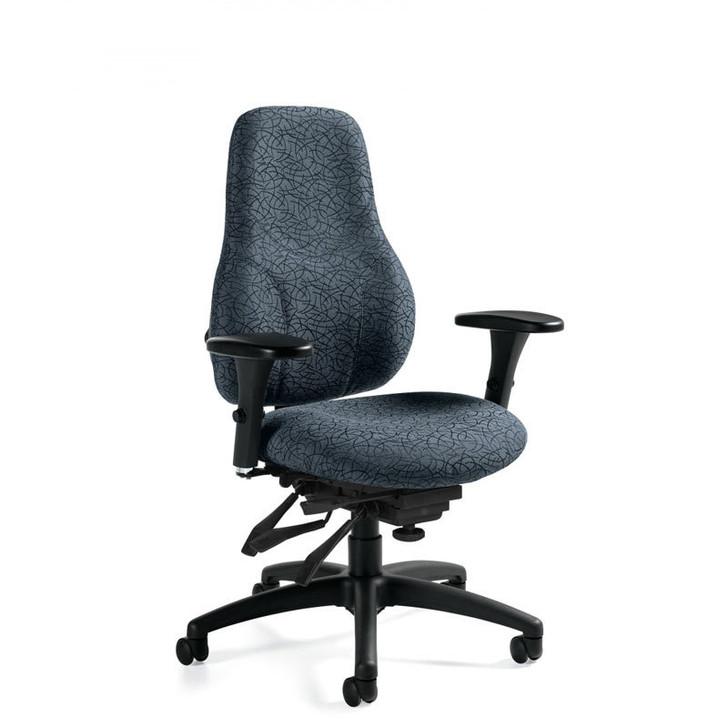 Tritek Ergo Select Extended High Back Multi-Tilter, Standard Seat (7482-3).  Global Chair. North York