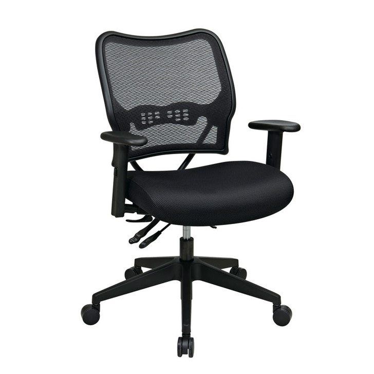 Deluxe Air Grid Back Chair with Mesh Seat