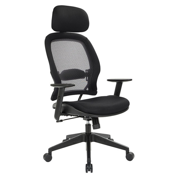 Professional AirGrid® Back and Mesh Seat Chair with Adjustable Headrest