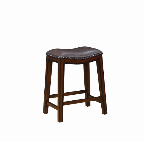 Cool The Traditional Two Tone Brown Bar Stool Available At Cupps Dailytribune Chair Design For Home Dailytribuneorg