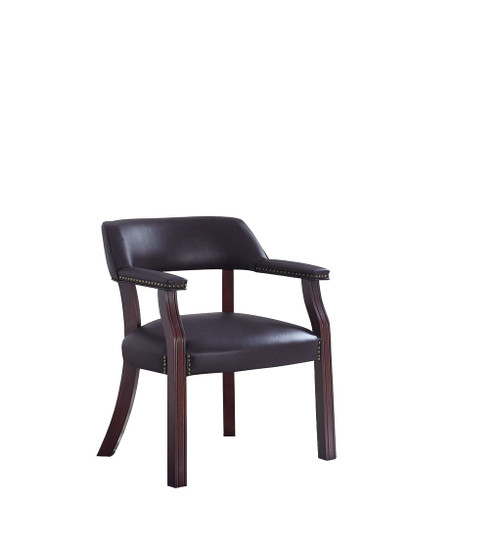 Superb The Modern Black Guest Chair Available At Cupps Furniture Machost Co Dining Chair Design Ideas Machostcouk