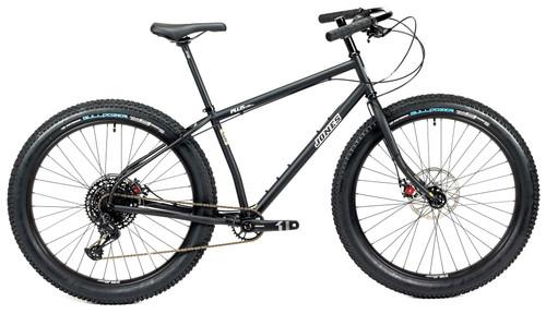 Jones LWB HD/e Complete Bike with Knobby Tires Matte Black