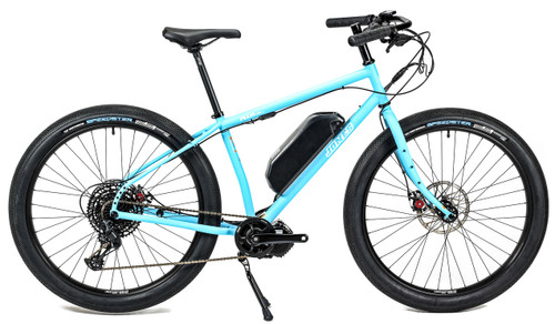 Jones  Plus LWB HD/e Ebike with BBSHD Motor and Smooth Tires Matte Blue