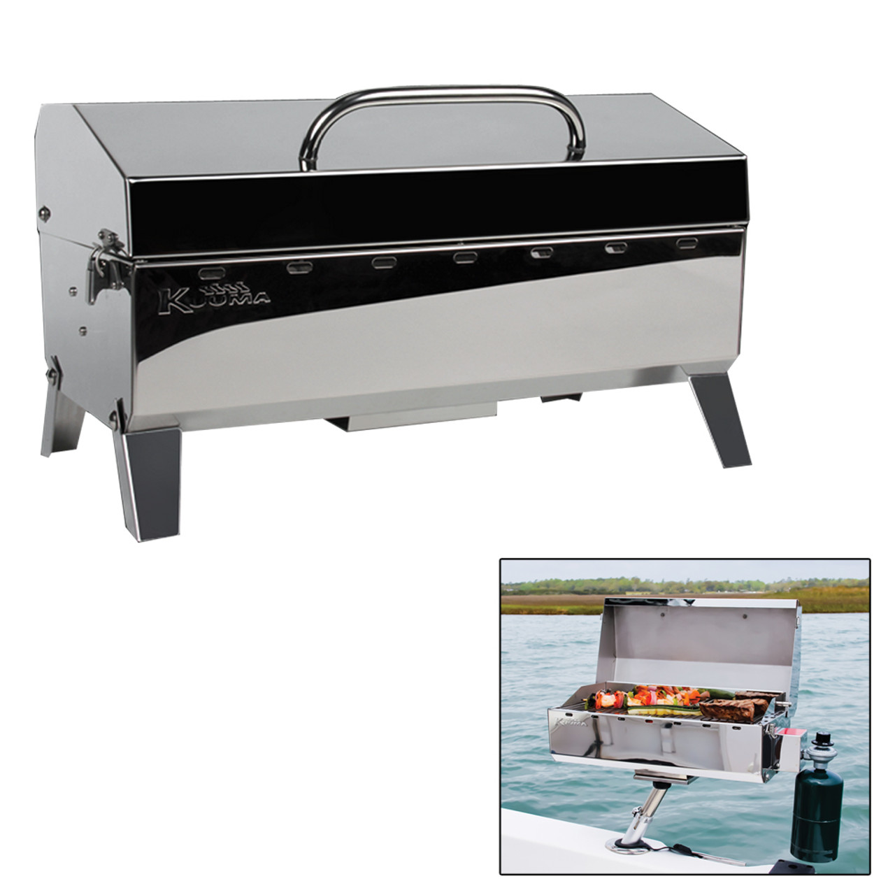Kuuma Stow /& Go 160 Gas Grill 13000 Btu W// Regulator #58130