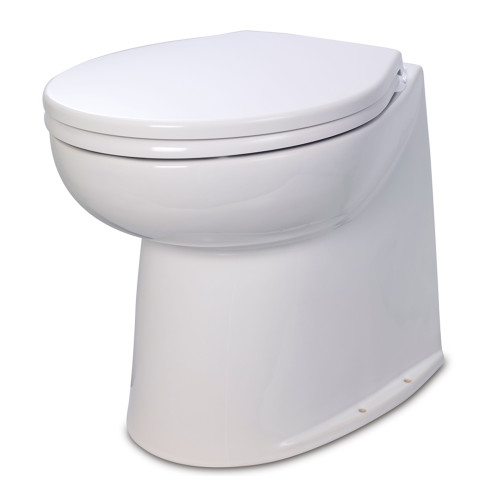 "Jabsco 17"" Deluxe Flush Raw Water Electric Toilet - 24V - 58240-2024"
