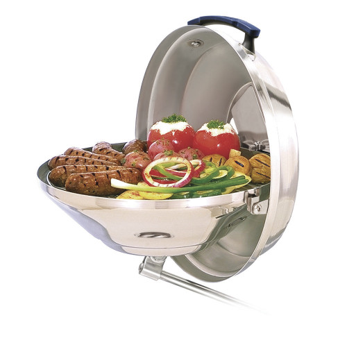 "Magma Marine Kettle Charcoal Grill 15"" w/Hinged Lid  (A10-104)"