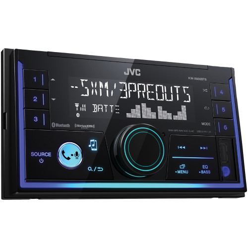 JVC Mobile KW-SX83BT Double-Din In-Dash AM/FM Digital Media Receiver With Bluetooth