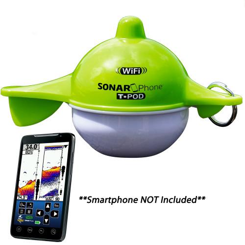 Vexilar SP100 SonarPhone w/Transducer Pod - Portable Wi-Fi Fishfinder