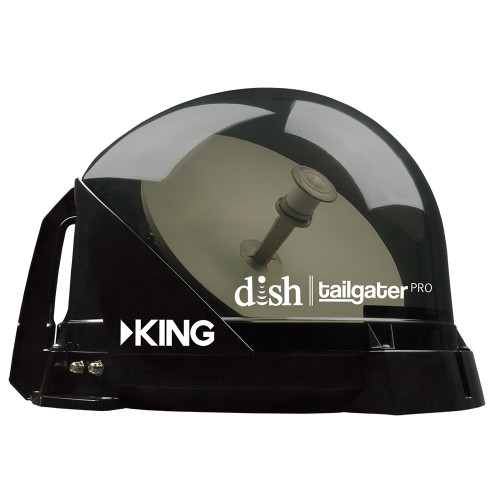 KING Tailgater® Pro Premium Satellite TV Antenna - Portable