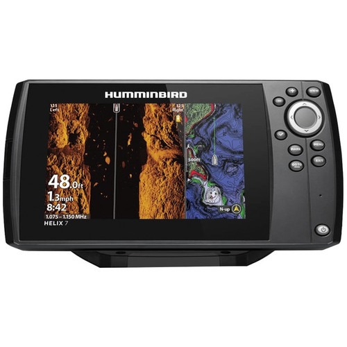 Humminbird 411080-1 HELIX 7 CHIRP MEGA SI Fishfinder/GPS Combo G3N w/TM Transducer