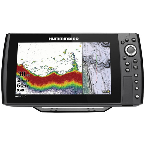 Humminbird HELIX 10 CHIRP Fishfinder/GPS Combo G3N w/Transom Mount Transducer 410870-1