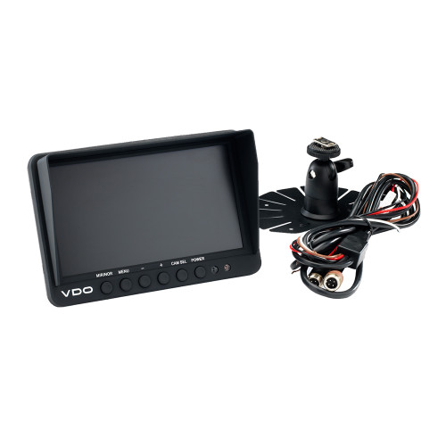 "VDO 7"" Rear View Vehicle Camera Display w/Dual Input"