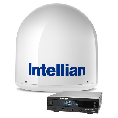 "Intellian i2 US 13"" w/North Americas LNB B4-209SS - Compact Global Satellite TV System"