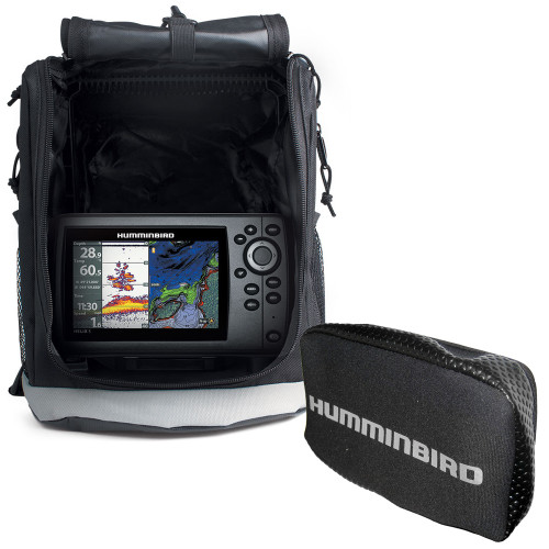Humminbird HELIX® 5 Chirp GPS G2 Portable w/Free Cover - Rebate up to $50.00* - No Tax