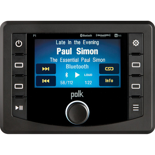 "Polk Audio 4.3"" Waterproof Bluetooth/ APP Ready Stereo W/3 Months Free SiriusXM + $70 Back Offer*"