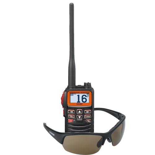 Standard Horizon HX40 Handheld VHF w/FREE Harken Sunglasses