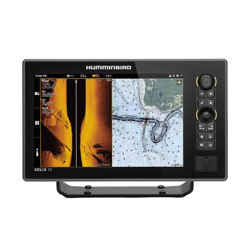 Humminbird SOLIX 10 CHIRP MEGA SI Fishfinder/GPS Combo G2 w/Transom Mount Transducer