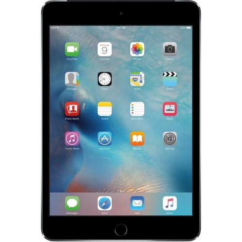 """Apple iPad Mini 4 7.9"""" 128GB 4G LTE Cellular - Space Gray -  MK7T2LL/A"""