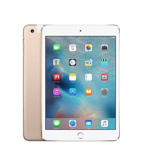 "Apple iPad Mini 4  7.9"" 128GB WiFi + 4G LTE Cellular - Gold"