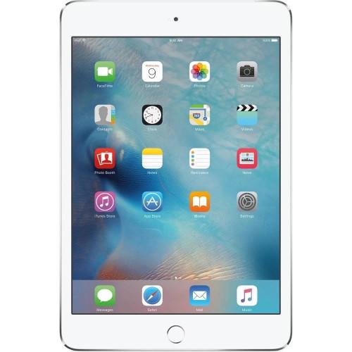 "Apple iPad Mini 4  7.9"" 128GB WiFi + 4G LTE Cellular - Silver"